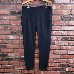 Spanx Dark Wash Jean-ish Ankle Leggings